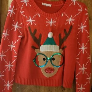 Christmas sweater worn once